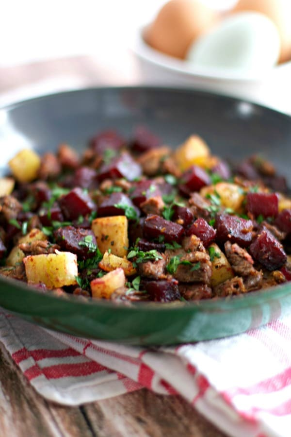 Paleo Red Flannel Hash -