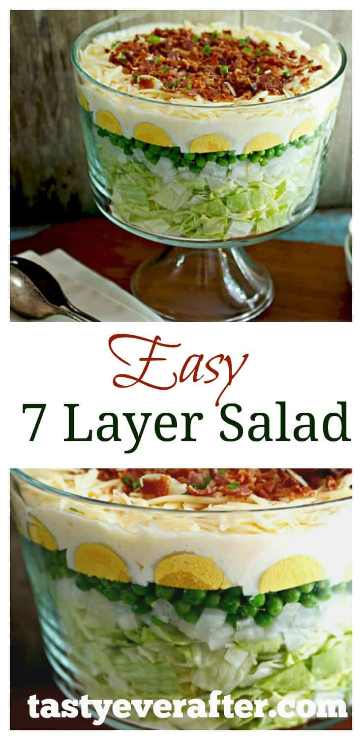 Easy 7 Layer Salad