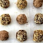 Raw Chocolate Truffles (vegan & dairy free)
