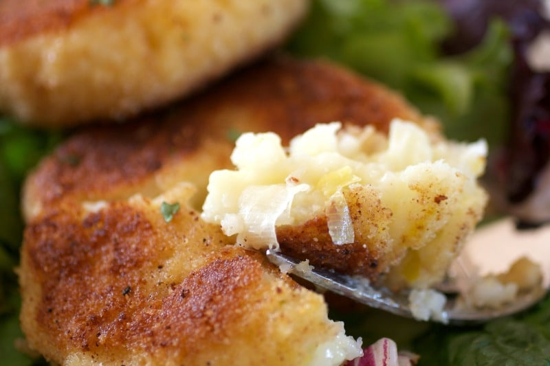 Easy Risotto Cakes -