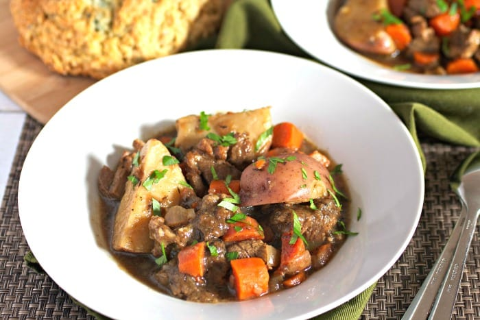 Irish Stout Lamb Stew