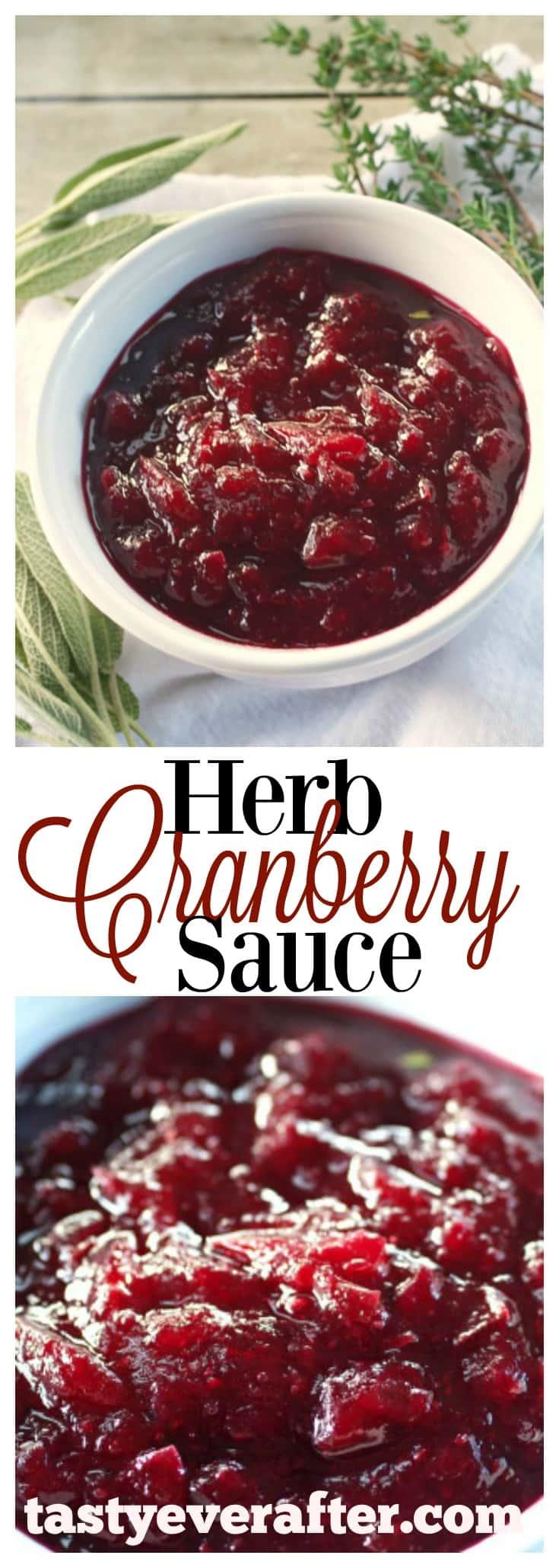 Herb Cranberry Sauce