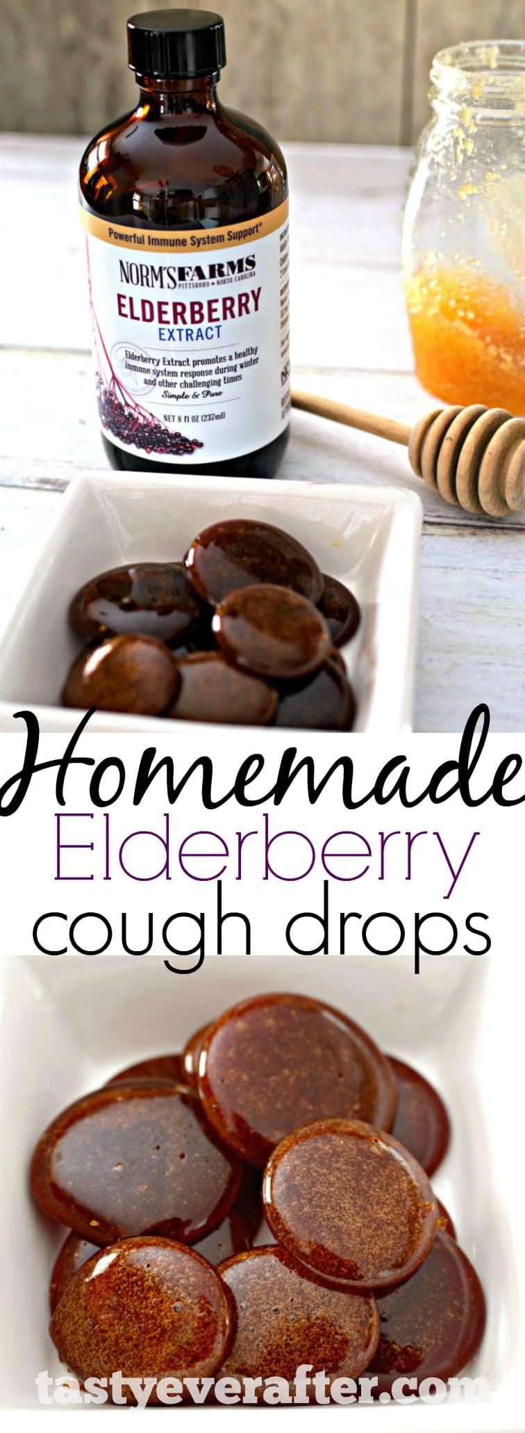 Homemade Elderberry Cough Drops
