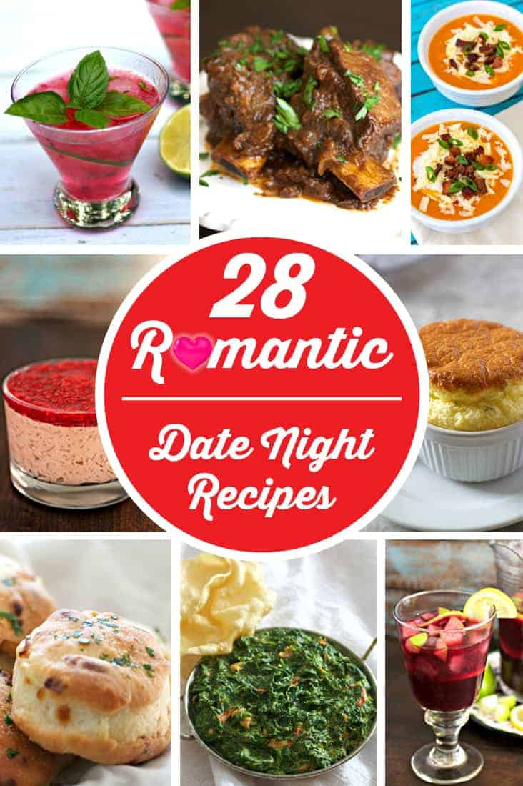 28 Romantic Date Night Recipes
