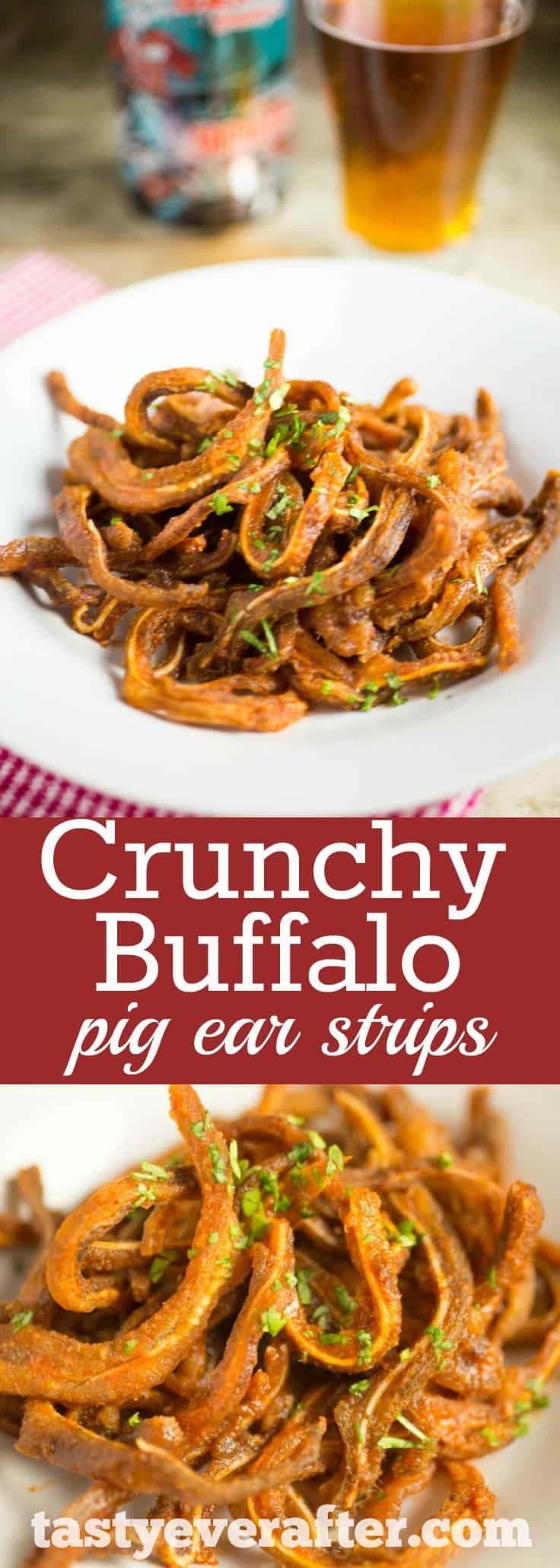 WTF?! A Crunchy Buffalo Pig Ear Strips Recipe