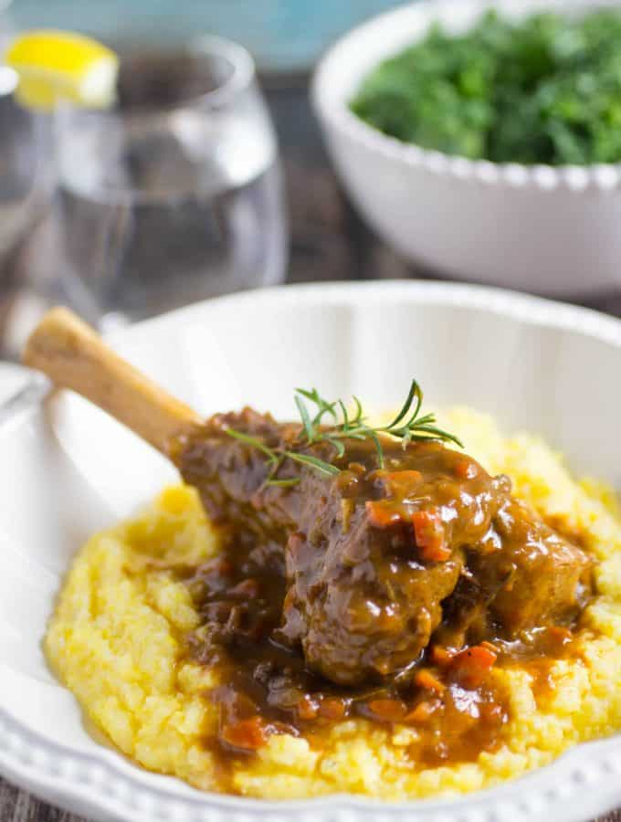 Easy Braised Lamb Shanks Recipe