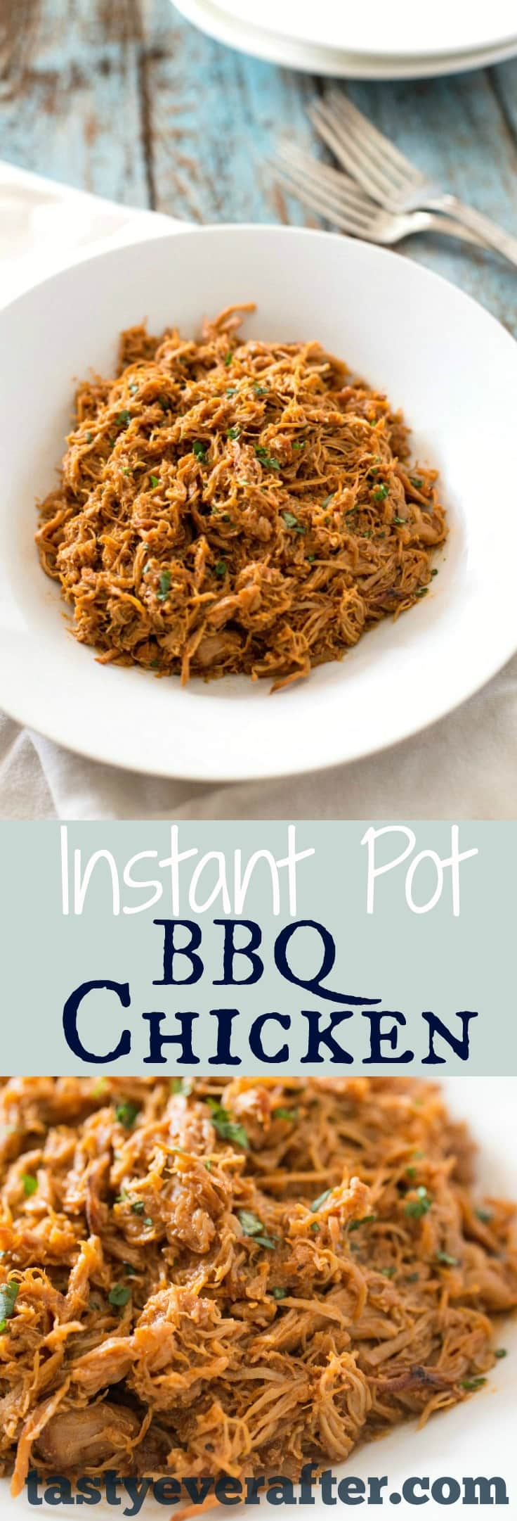 Instant Pot BBQ Chicken
