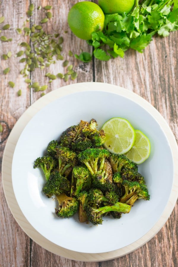 Mexican Spiced Roasted Broccoli Recipe