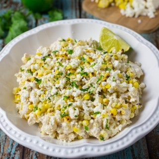 Mexican Street Corn Potato Salad Recipe