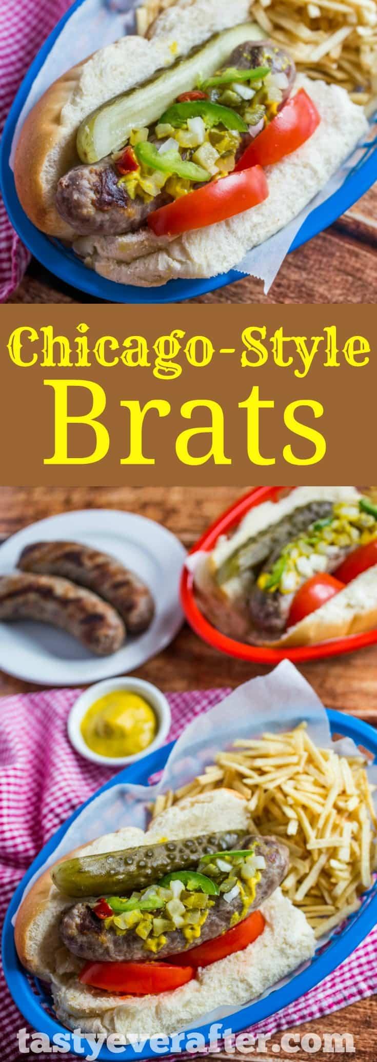 Chicago-Style Brats Recipe
