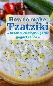 Tzatziki Sauce Recipe PIN