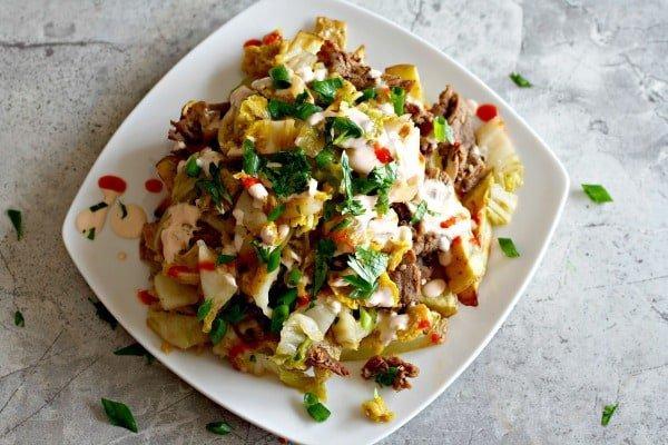 Bulgogi Kimchi Fries
