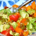 Chimichurri Avocado and Tomato Salad