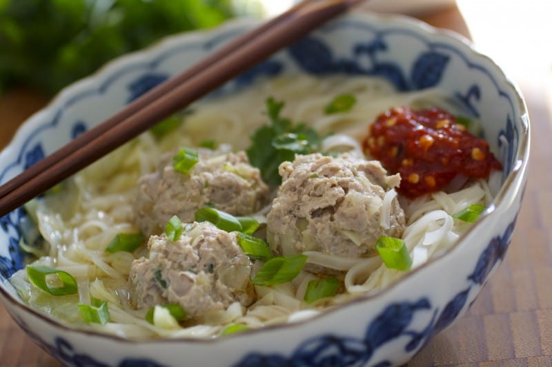 Asian Meatball Noodle Soup | Tasty Ever After: Quick and