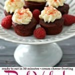Mini Red Velvet Cupcakes Pinterest PIN