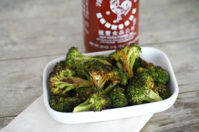 sriracha roasted broccoli