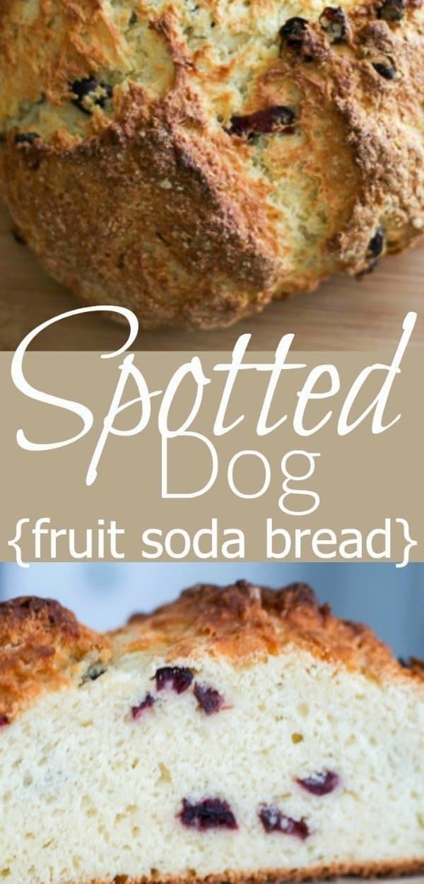 Spotted Dog recipe Pinterest PIN