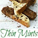 Thin Mints White Chocolate Biscotti Pinterest PIN