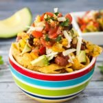 Vegetarian Chili Frito Pie
