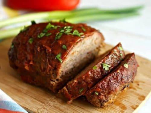 Smoked meatloaf bbq meatloaf tasty ever after forumfinder Gallery