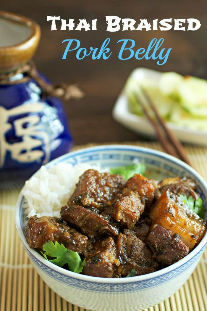 Thai Braised Pork Belly