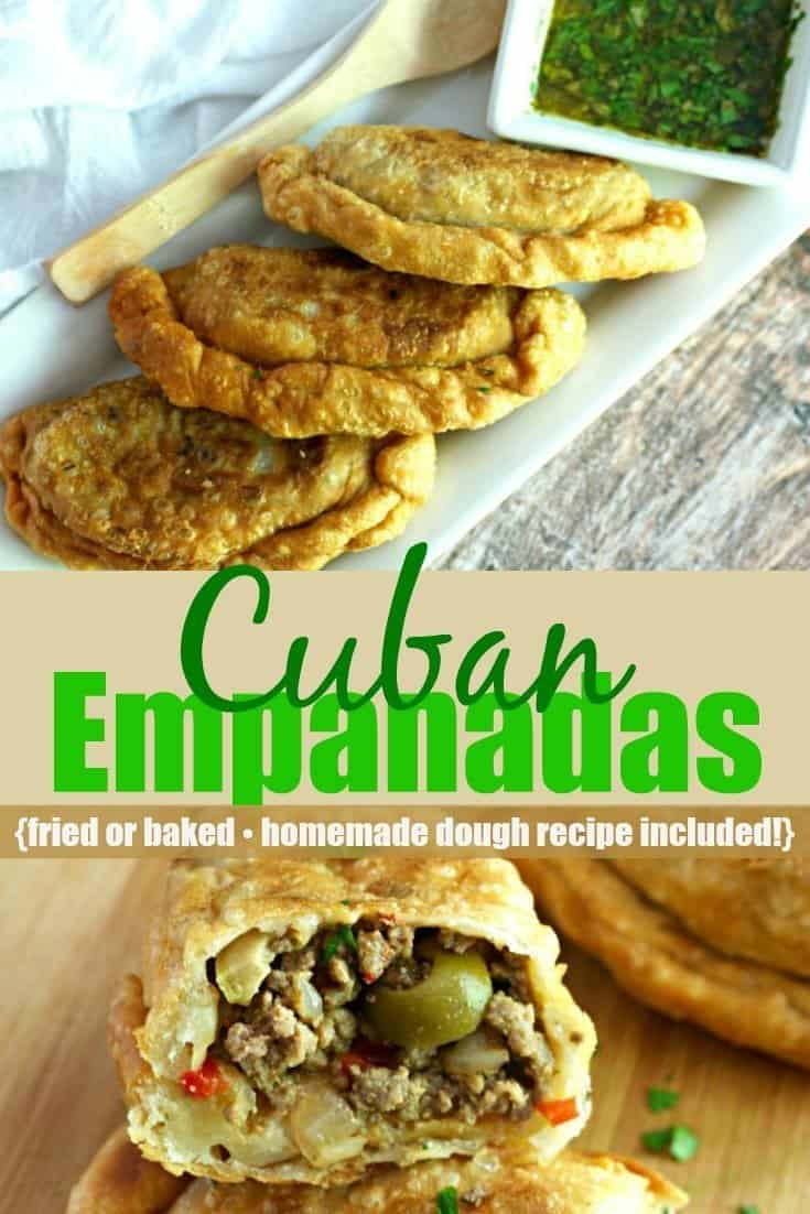 Cuban Empanadas recipe Pinterest PIN