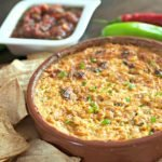 Hella Spicy Cheesy Chicken Dip