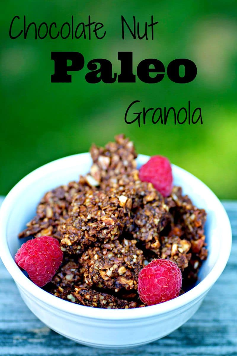 Chocolate Nut Paleo Granola