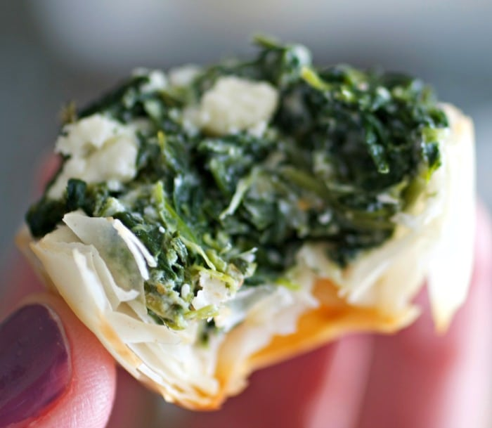 Easy Mini Spanakopita
