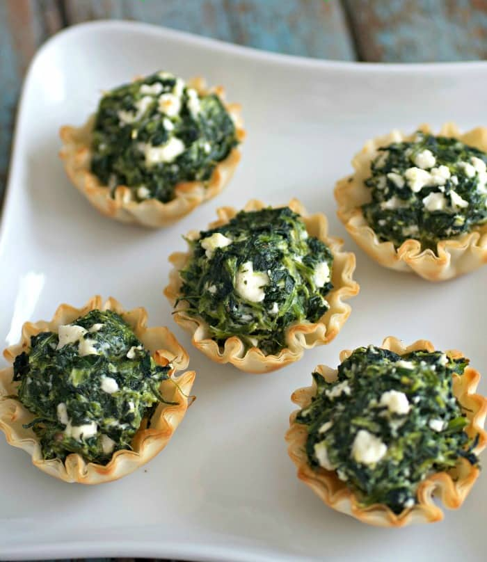 Easy Mini Spanakopita Recipe