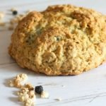 Blueberry Granola Soda Bread