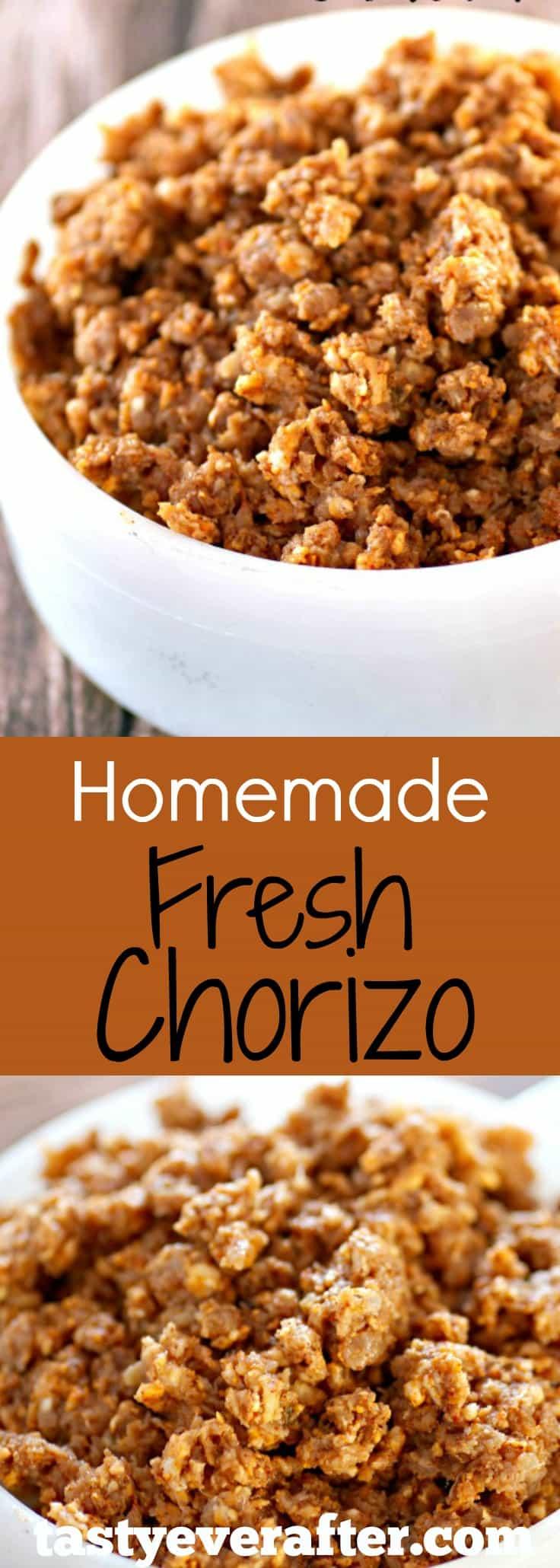 Homemade Fresh Chorizo | Tasty Ever After