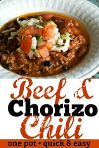 Beef Chorizo Chili Pinterest PIN