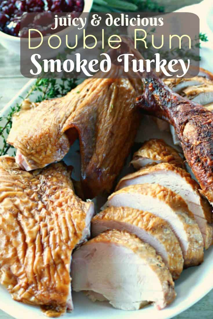 Double Rum Smoked Turkey Pinterest PIN
