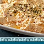Feta dip spicy and Greek Pinterest PIN