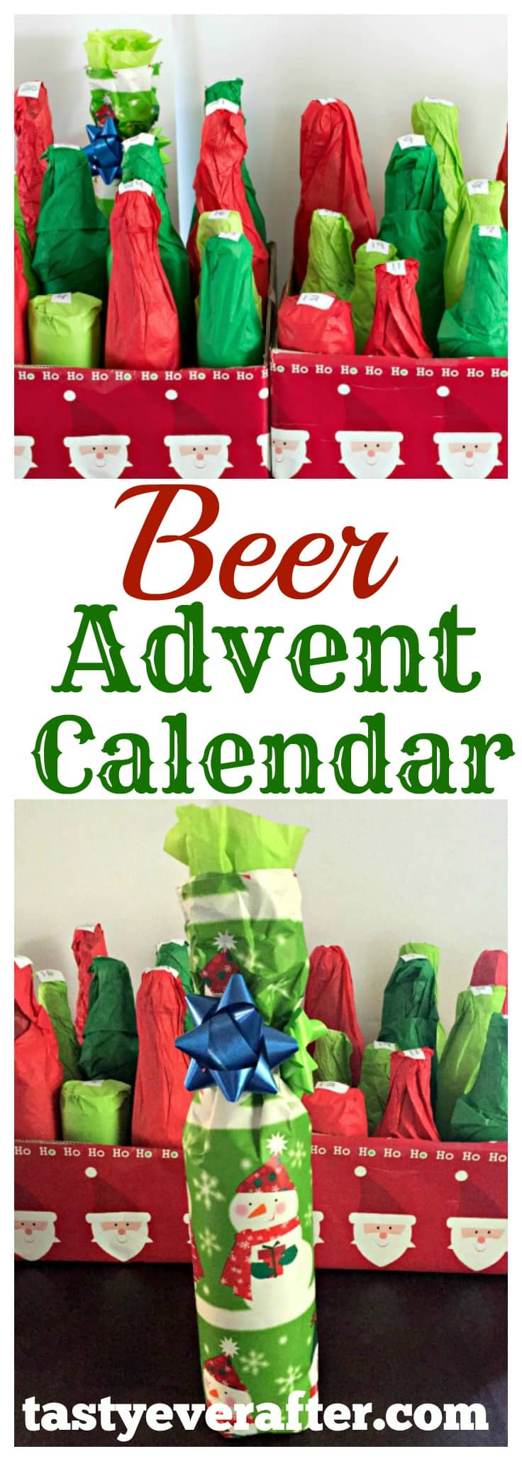 Calendar Ideas For Husband : Diy beer advent calendar do it your self