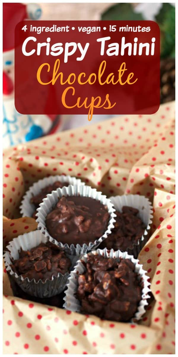 Crispy Thaini chocolate cups pinterest PIN