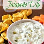 Copycat Trader Joe's Artichoke and Jalapeno Dip Pinterest PIN