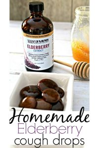 Homemade Elderberry Cough Drops Pinterest PIN