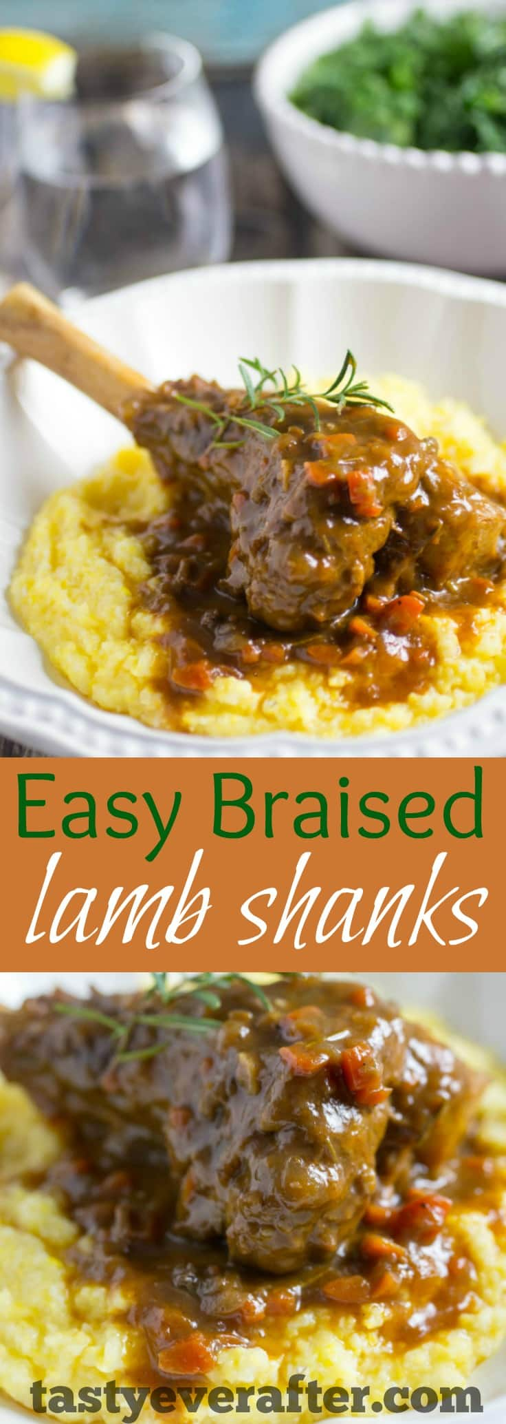 EasyBraisedLambShanksPIN - Easy Braised Lamb Shanks Recipe