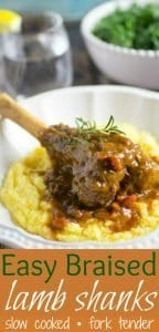 Easy Braised Lamb Shanks Pinterest PIN