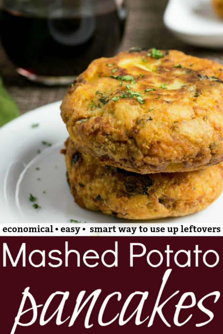 Mashed Potato Pancakes Pinterest PIN