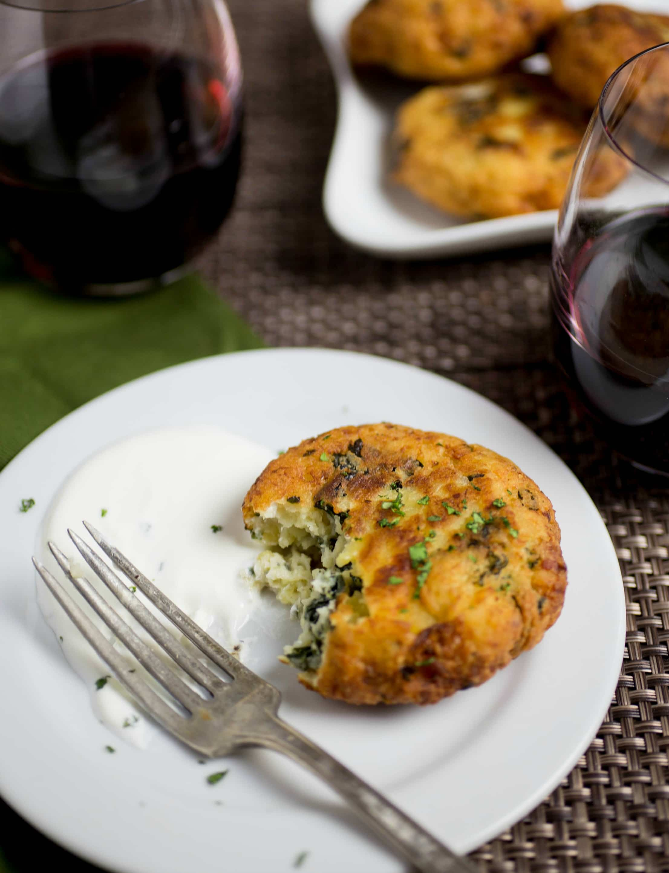 MashedPotatoPancakesCropped7 - Leftover Mashed Potato Pancakes Recipe