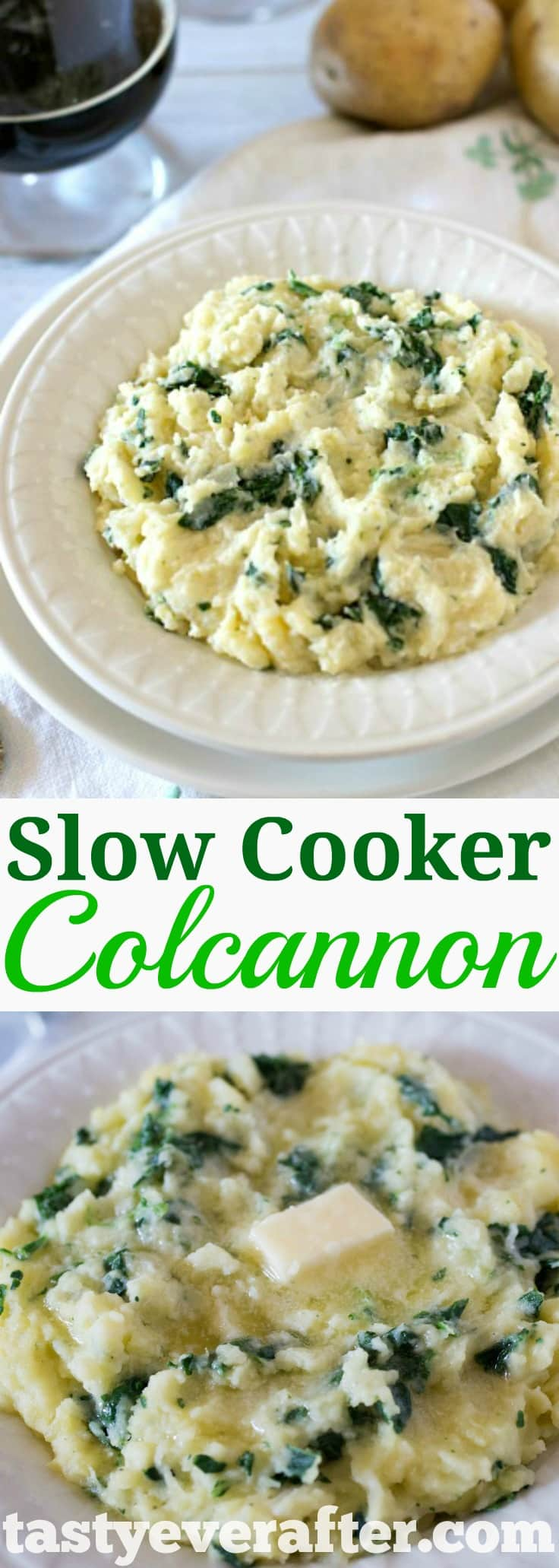 Slow Cooker Colcannon potatoes Pinterest PIN