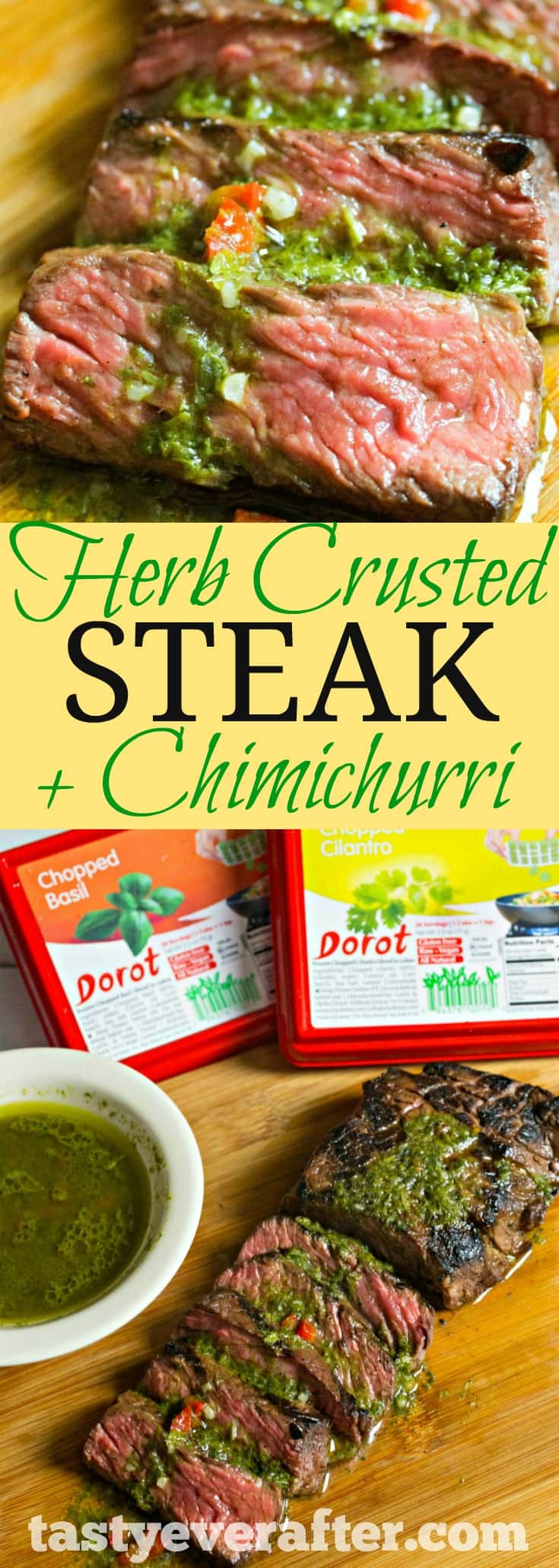 asy Herb Crusted Steak + Chimichurri with Dorot Recipe