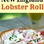 Classic New England Lobster Roll recipe pinterest photo