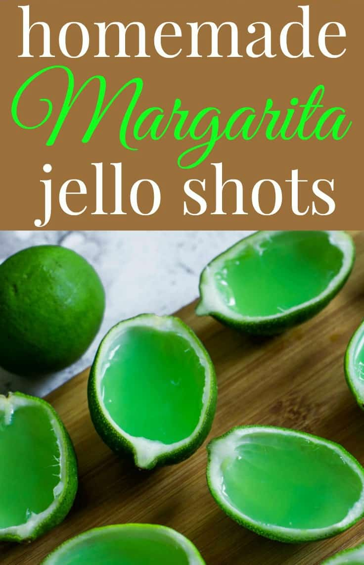 Want a fun and unique way to serve margaritas at your next party?   Make Homemade Margarita Jello Shots!  They have all of the natural flavors with none of the artificial ingredients. #partyrecipe #jelloshots #margarita #happyhour #drinkrecipe #tastyeverafter