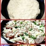 Homemade Pan Pizza Recipe Pinterest PIN
