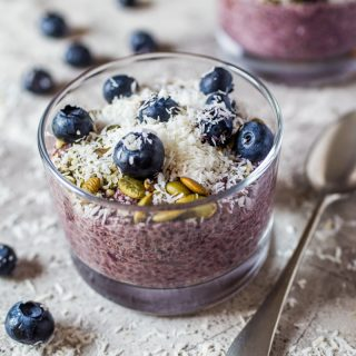 Mixed Berry Chia Seed Pudding Recipe