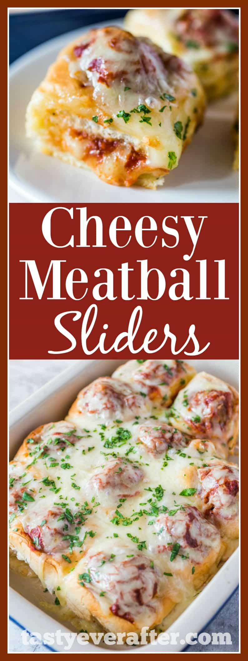 CheesyMeatballSlidersPIN - Cheesy Meatball Sliders Recipe